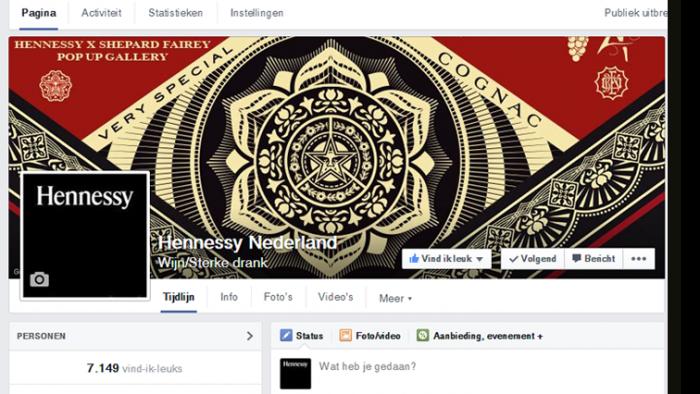 Hennessy Social media beheer