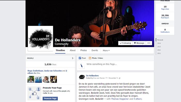 Hollanders social media by Social Addicts