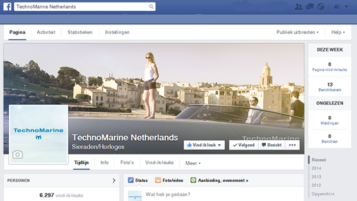 TechoMarine Nederland door Social Addicts