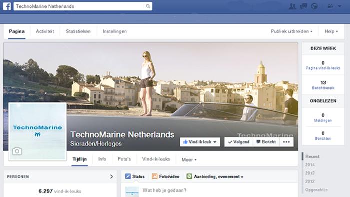 TechoMarine Nederland door Social Addicts
