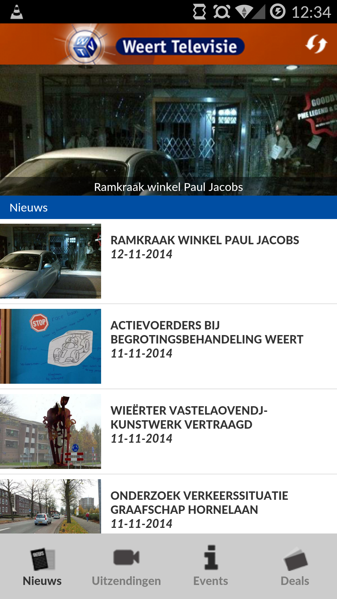 WeertTV app door Social Addicts Weert